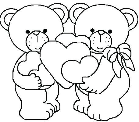 valentine coloring pages pdf at getcolorings  free printable colorings pages to print and color