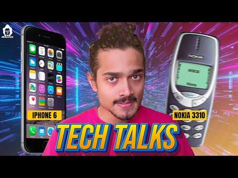 Tech Talk (iPhone6 vs. Nokia 3310)