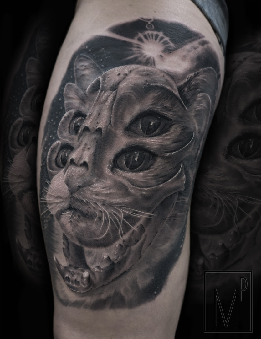 Black And Grey Tattoo Artist In Milwaukee Wi