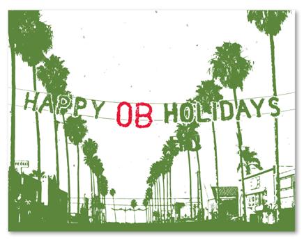 Happy OB Holidays Cards