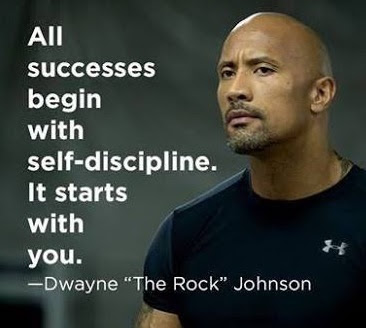 All Successes Begin With Self Discipline It Starts With You