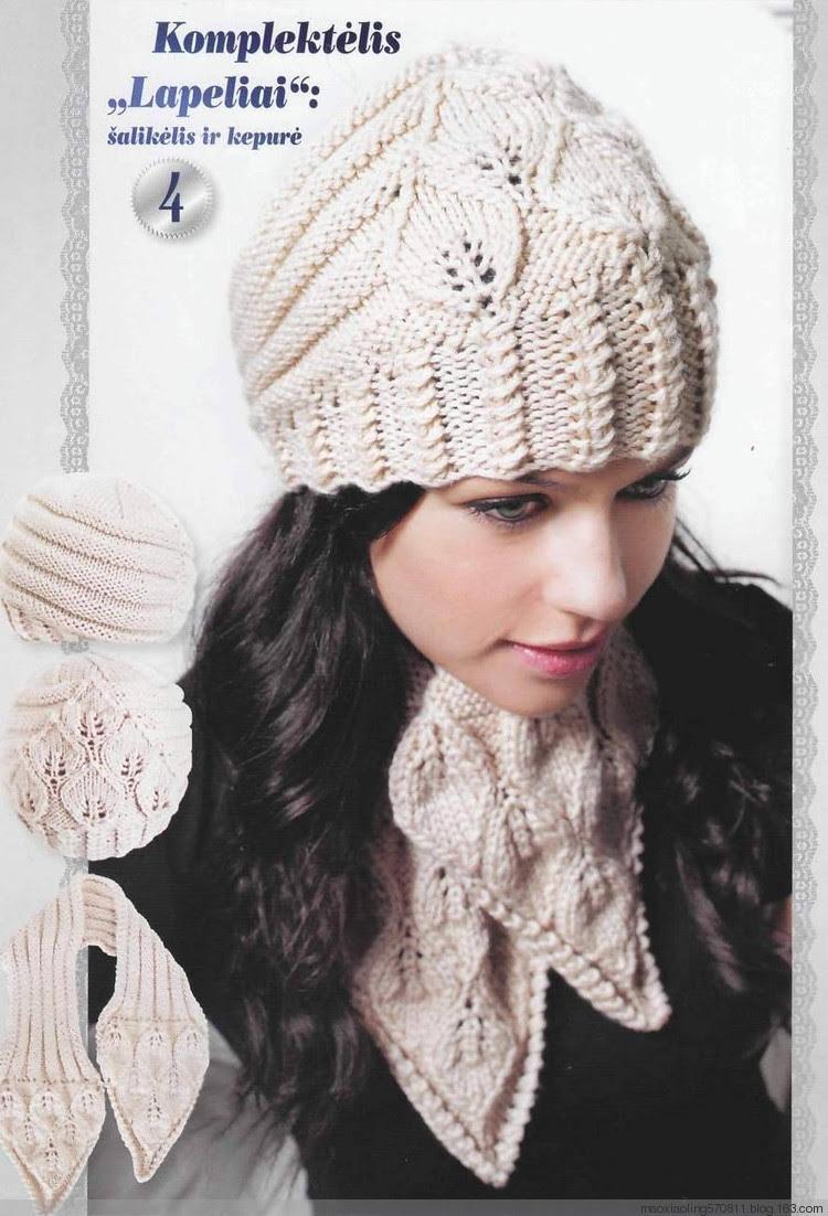 立陶宛杂志Pacios №42 / 2012:树叶帽子和围巾 - maomao - 我随心动
