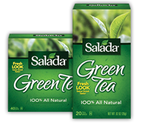 Salada Green Tea FREE Salada Green Tea Sample