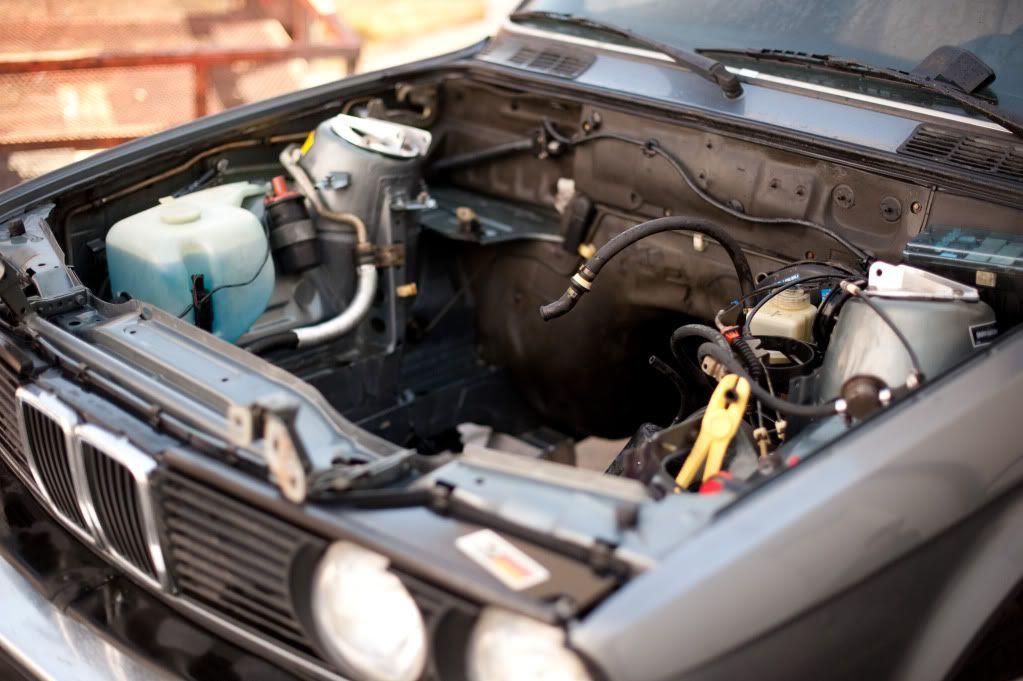 Freshening up a 1984 BMW 325e