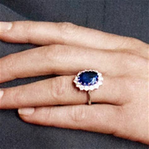 Kate Middleton engagement ring: replica of the sapphire