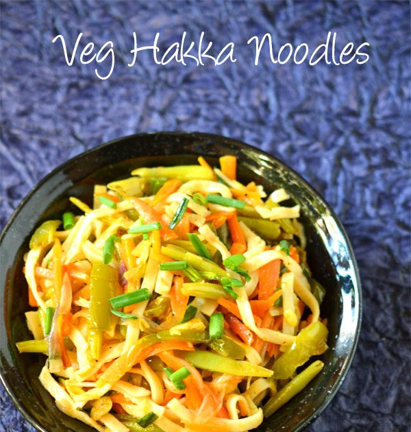 Vegetable hakka noodles recipe indo chinese recipes for Aum indian cuisine
