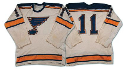 St Louis Blues 67-68 jersey