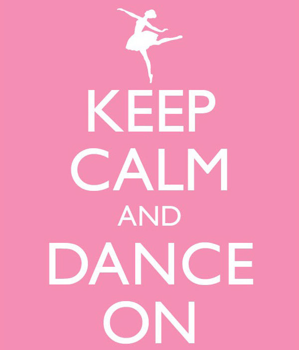 Keep Calm And Dance On Quotespicturescom