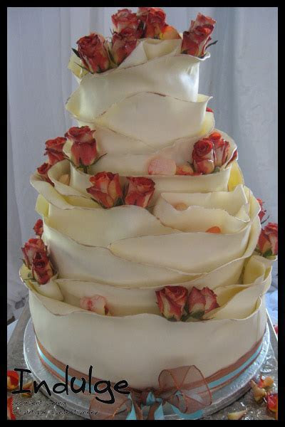 Indulge Confectionery Boutique   Satine Cake with Roses