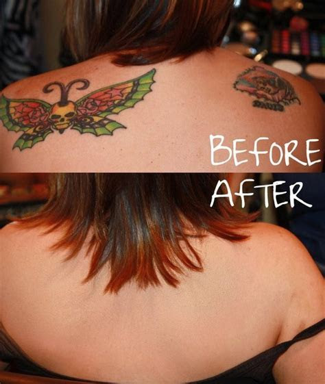 TATTOO COVER UP BEFORE AND AFTER  Not feeling your tattoos