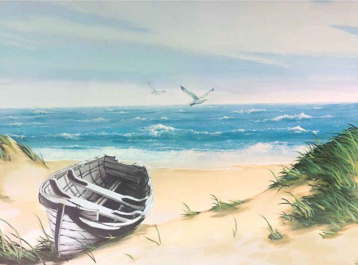 21 Best Beach Scene On Walls Images On Pinterest Inspirational
