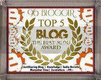 Award Pertama Dari Sahabat Blogger