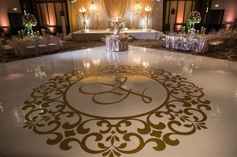 Dance Floor Designs   Wedding Flowers and Decorations