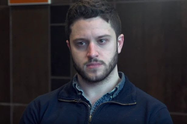 Cody Wilson creator of the world's first 3D printable machine gun, seen during a interview