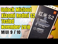 Unlock Micloud Mi Account Xiaomi Redmi S2 Ysl Bypass Disable Fix Aktif Jaringan Data / Wifi Tidak Terlock Lagi