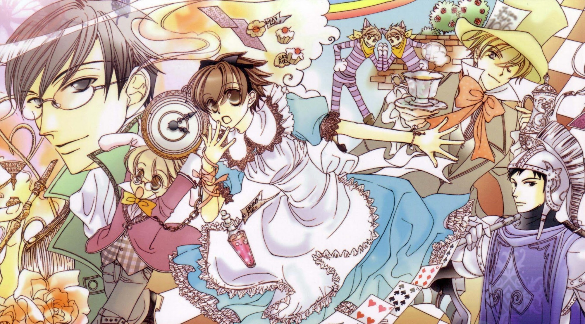 Ouran High School Host Club Hd Wallpapers 58 Images