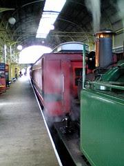 Queenstown station interior