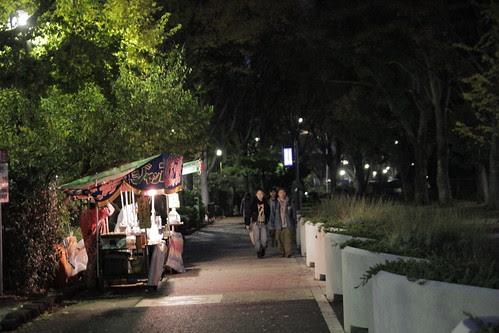 Stalls outside Yoyogi Park 2