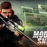 Review Game: Modern Sniper Apk + Mod Gold Cash