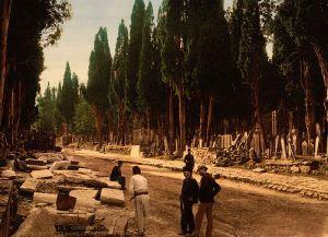 Cementerio de Üsküdar hacia 1890