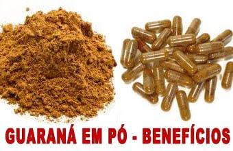 Guaraná em pó benefícios para emagrecer