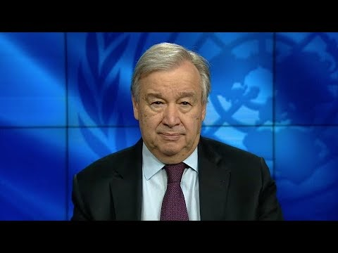 CORONAVIRUS: UN chief on the launch of policy on older persons & COVID-19