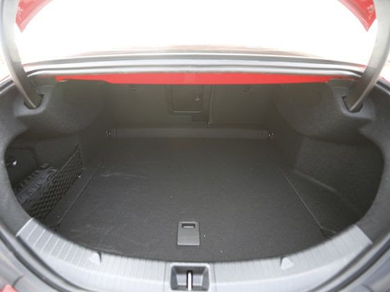 Mercedes-Benz CLA boot space