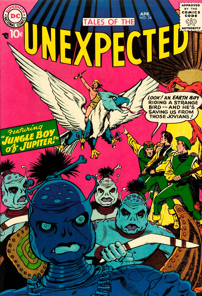 Tales of the Unexpected #24 (DC, 1958) Lou Cameron cover