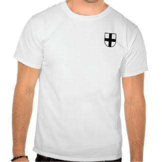 Teutonic Knights Shield Shirt shirt