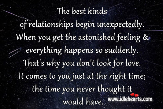 Quotes About Finding Love Unexpectedly Quotes About Falling In Love