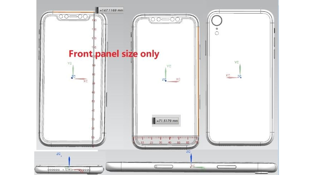 Asus Rog Zephyrus S Is Worlds Thinnest Gaming Laptop Flash Circuit Schematic Moreover Stun Gun Circuits Diagram Schematics For The Iphone 9 Weve Also Seen That Possibly Show Phone Which You Can See Below Alongside Them Dimensions Of 14712 X 7152mm Were