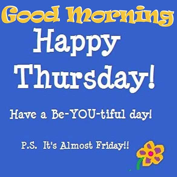 212 Happy Thursday Quotes Greetings Pictures Images Download