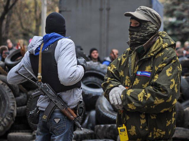 В Донецкой области растут все новые баррикады