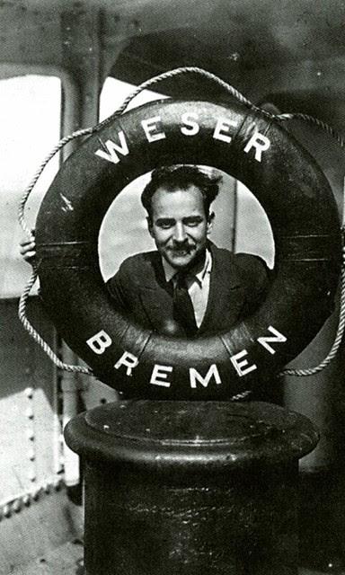 """Antonio Passaporte viaja a Argentina en el vapor """"Bremen"""" en misión comercial para la Casa Loty (Foto propiedad Rodolfo Passaporte)"""