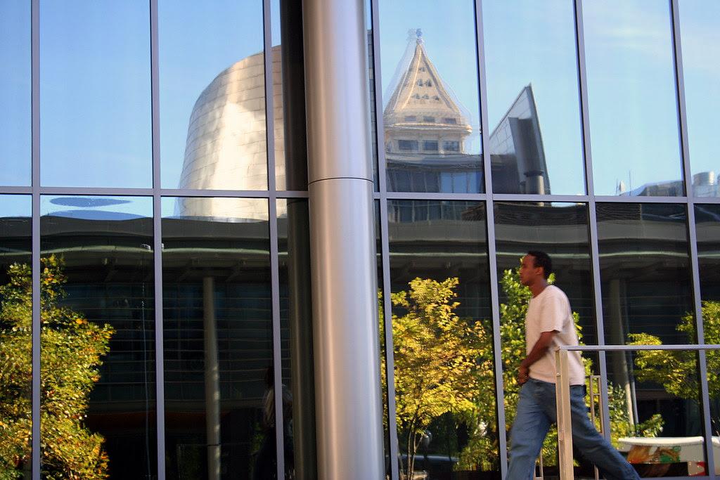 City Hall Reflected