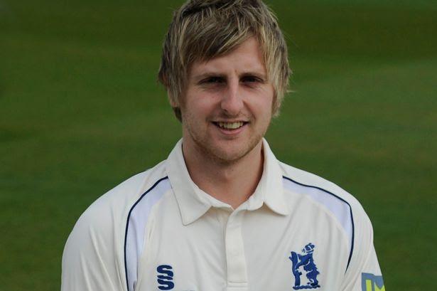 The Birmingham Post and Mail.Pics by Iain Findlay Warwickshire County Cricket Club team photo.Tom Allin