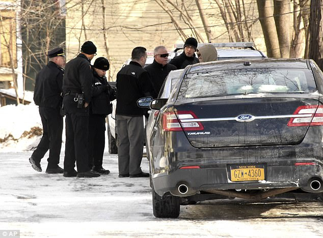 The bodies were discovered by a property manager in a basement apartment on Tuesday after being asked to check on the welfare of the family