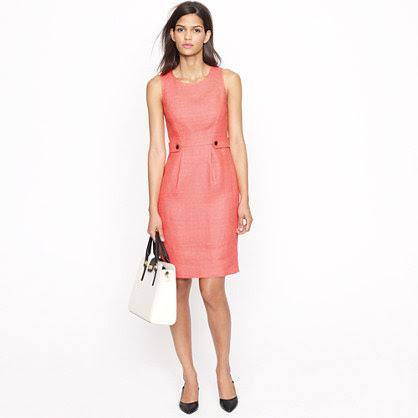 Attaché dress in linen-canvas