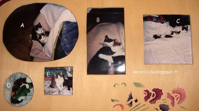 portafoto traforo e stencil 2 - parte sopra