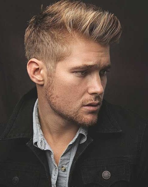 herren frisur blond undercut - moderne frisur-stil