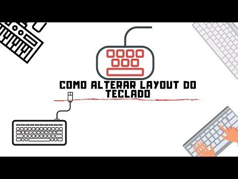Como configurar teclado padrão americano no Windows 10