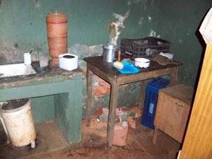Responsável pelo trabalho escravo foi detido nesta sexta-feira (23). (Foto: Polícia Militar)