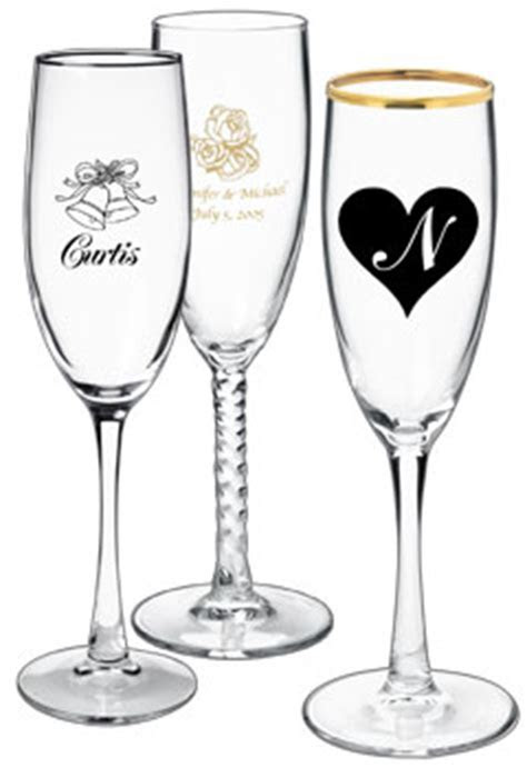 Cheap Engraved Wine Glasses Wedding   Les Baux de Provence