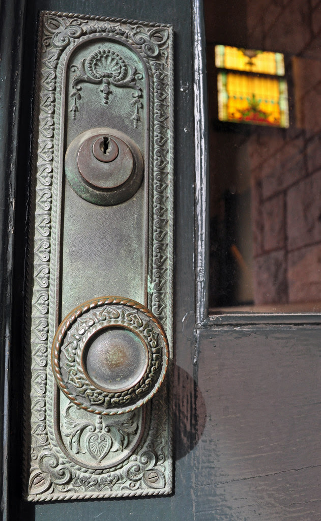 Court Street Baptist Church Door