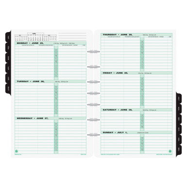 Record Books - Planner Refills - 1116469 - Day-Timer Loose-Leaf ...