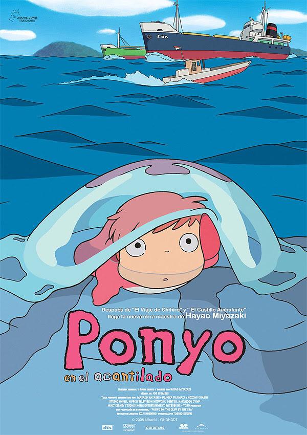 Ponyo en el acantilado (Hayao Miyazaki, 2.008)