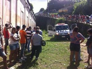 Criança de um ano e seis meses foi morta com uma pancada na cabeça (Foto: Fabiana de Mutiis/G1)