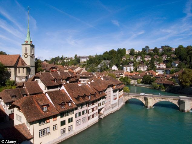 People born in Switzerland will tend to be the happiest and have the best quality of life judged in terms of wealth, health and trust in public institutions.