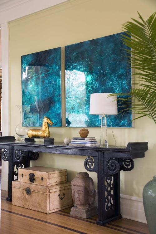 Sylvia Martin asian living room