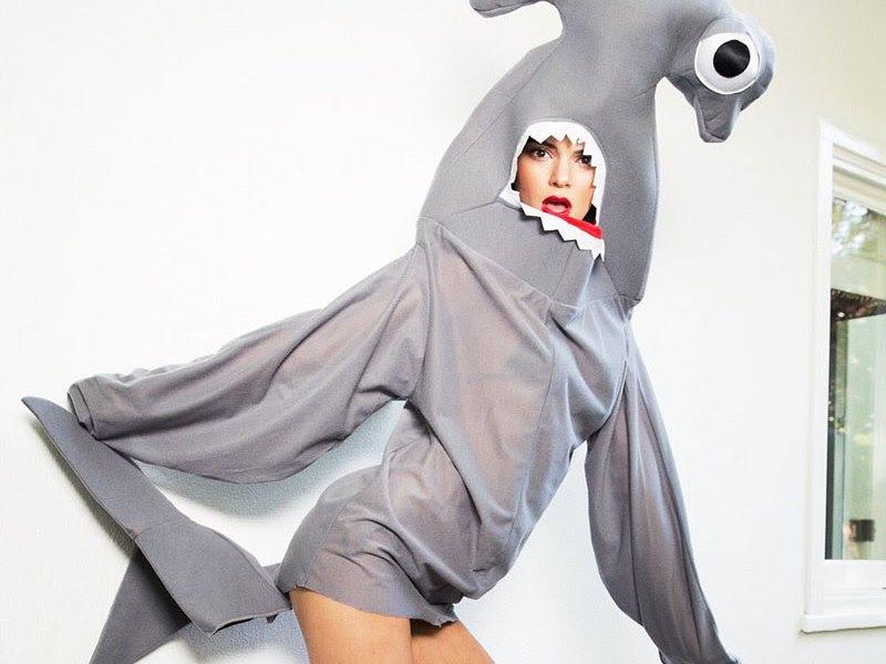 Kendall-Jenner-Sexy-Shark-Costume